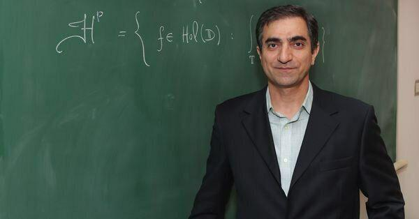 تصویر یک کاشانی رئیس انجمن ریاضی کانادا شد