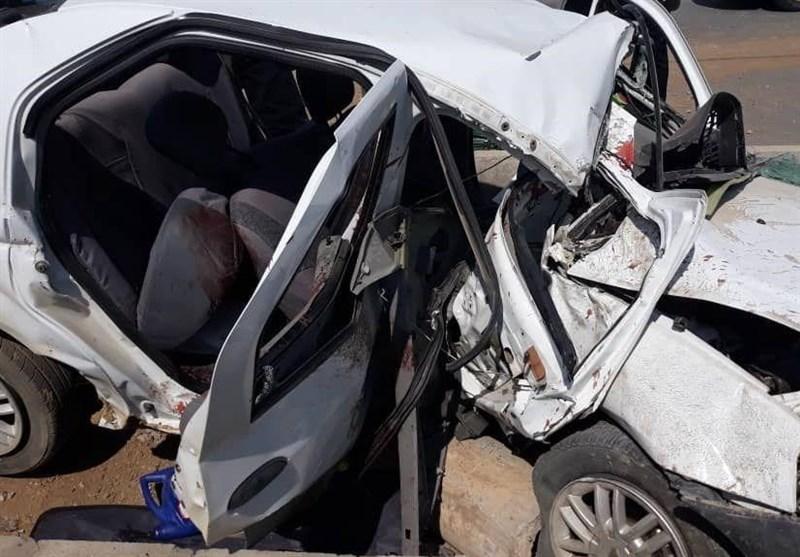 تصویر رئیس بنیاد شهید و کارمند بازنشسته کانون فرهنگی هنری نطنز بر اثر حادثه رانندگی جان باختند