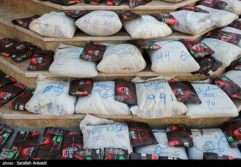 تصویر ۳۶۰ کیلوگرم مواد مخدر در کاشان کشف و ضبط شد