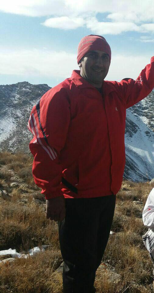 تصویر صاعقه، جان کوهنورد کاشانی را گرفت