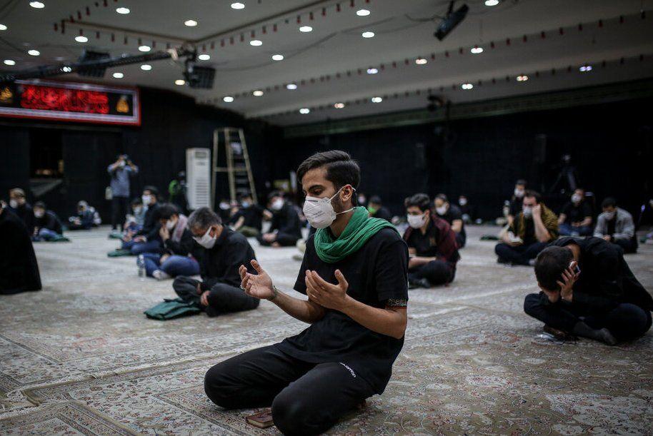 تصویر تجلی شور حسینی در شمال اصفهان با التزام عزاداران به مسائل بهداشتی