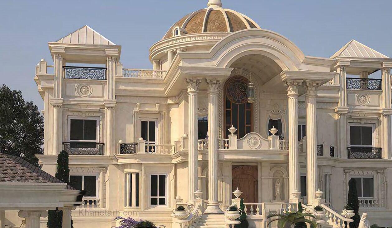 تصویر سبک معماری ایرانی در جدال با نماهای رومی