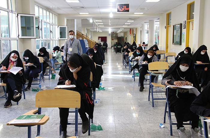 تصویر غیبت ۱۱۴۷ نفر از داوطلبان کاشانی در کنکور کارشناسی ارشد