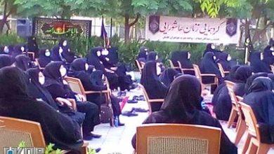 تصویر تغییر کاربری  مجموعه تفریحی ورزشی شهربانو  به حسینیه عزاداران بانوان حسینی کاشان
