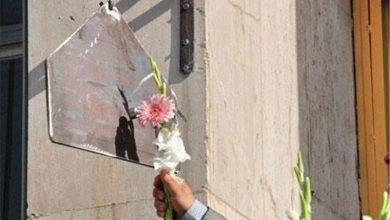 تصویر زنگ مهر و مقاومت در اردستان نواخته شد