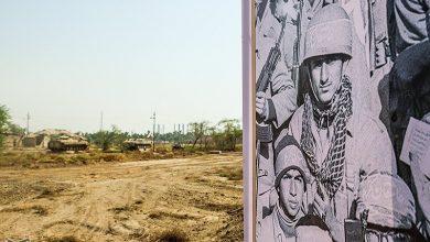 تصویر میزگرد| باغ موزه دفاع مقدس کاشان درگیر بروکراسی اداری / پروژهای که بعد از کلنگزنی رها شد + فیلم