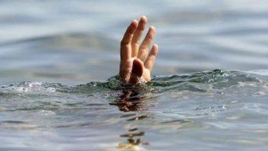 تصویر نجات پسر بچه ۱۰ ساله از غرق شدگی در قمصر کاشان