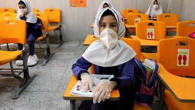 تصویر نیمی از دانش آموزان ابتدایی کاشان از حضور در کلاسها خودداری کردند