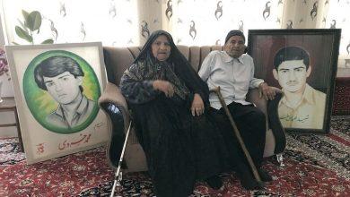 تصویر پدر شهیدان خسروی درگذشت