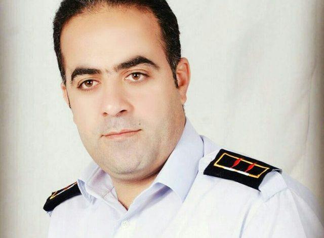 روح الله فدائی مدیر روابط عمومی سازمان آتش نشانی کاشان