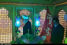 تصویر برگزاری مراسم غبارروبی ضریح علی بن محمد باقر(ع) مشهد اردهال کاشان به روایت تصویر