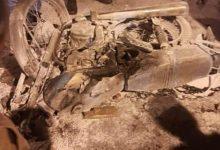 تصویر یک کشته و چهار مصدوم در تصادف پراید با دو موتورسیکلت در کاشان