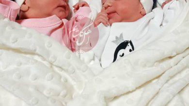 تصویر تولد نوزادان دوقلو از مادر مشکوک به کرونا در بیمارستان شهید بهشتی کاشان (+عکس)