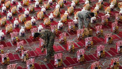 تصویر خروش سپاه اردستان در شکست کرونا/800 بسیجی پای کار آمدند