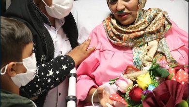 تصویر مادر باردار کاشانی پس از ۴۰ روز مبارزه با کرونا از کما بیرون آمد (+تصاویر)