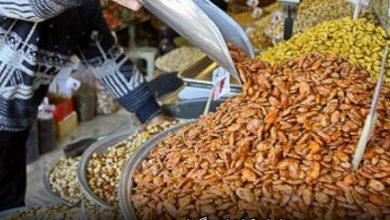 تصویر جولان گرانی در بازار آجیل شب یلدا