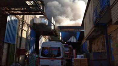 تصویر سرانجام پس از ۶ ساعت تلاش، آتش مهار شد
