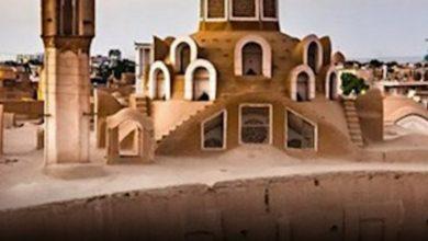 تصویر بناهای تاریخی کاشان تعطیل شد