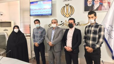 تصویر انتخاب هیات رییسه شورای اسلامی شهر مشکات برگزار شد
